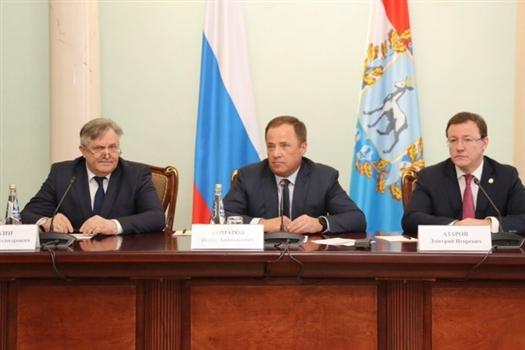 Главнымфедеральным инспектором по Самарской области назначен Юрий Рожин (крайний слева)