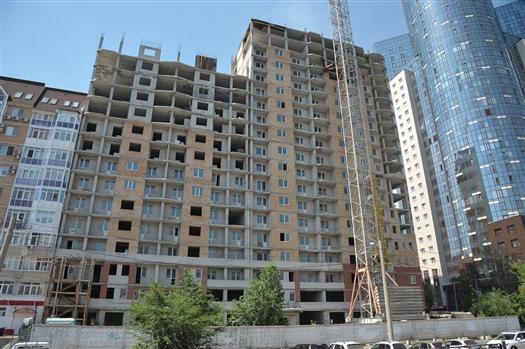 Дом на Вилоновской/Садовой планируют достроить к концу 2019 года