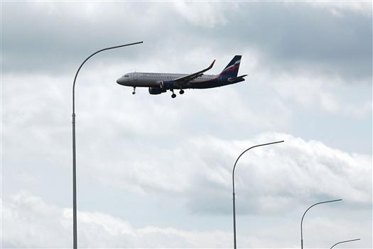 В минтрансе объяснили появление летающих над Самарой пассажирских самолетов