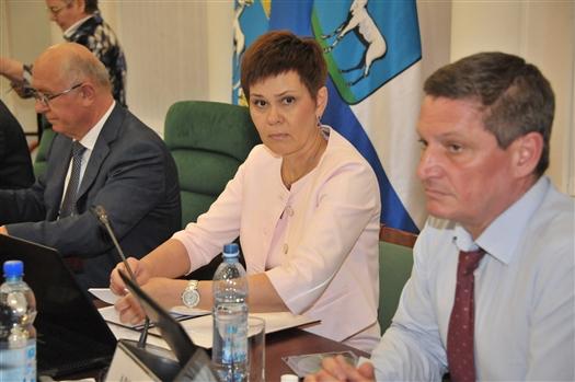 Председателем Cамарской городской думы избрана Галина Андриянова
