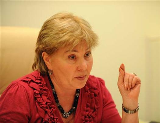 Любовь Аристова, председатель правления НП «СРО «Самарская гильдия строителей», председатель правления ГК «Финстрой».
