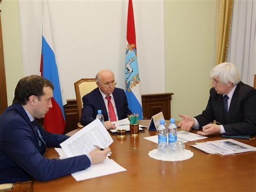 """Губернатор и руководитель """"Кузнецова"""" обсудили стратегические планы развития предприятия"""