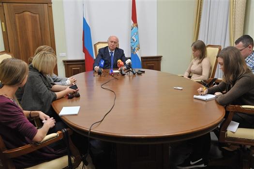 Николай Меркушкин огласил предварительные итоги явки на выборы