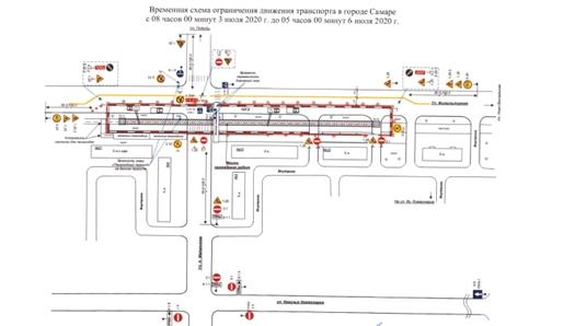 Продлено ограничение движения транспорта в связи с работами на теплотрассе по ул. Физкультурной