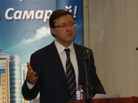 Николай Меркушкин направил в Совет Федерации кандидатуру Дмитрия Азарова