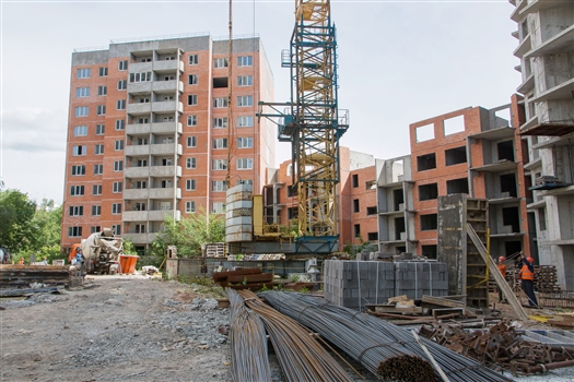 """На проблемной долевке """"Единства"""" на Димитрова, 74а возобновились строительные работы"""