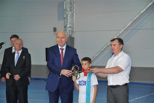 """Губернатор: """"Без таких спорткомплексов, как """"Маяк"""", нельзя подготовить конкурентоспособную молодежь"""""""