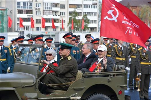 Самарская область встречает День Великой Победы