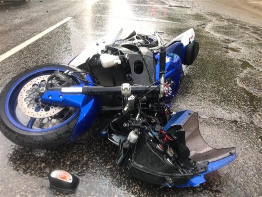 В Сызрани водитель Lada Priora сбил мотоциклиста