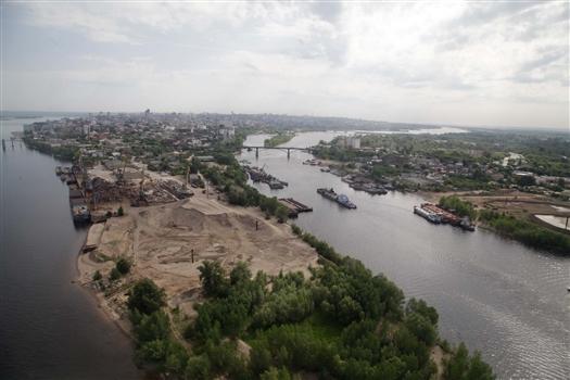 """Казанский """"Унистрой"""" не планирует строить жилье на стрелке рек Волги и Самары"""