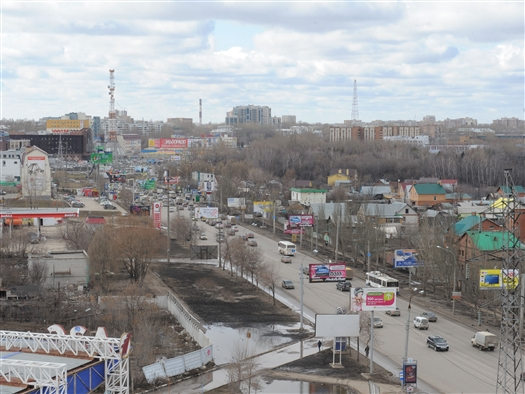 В Самаре в 2014 г. планируют реконструировать Московское шоссе