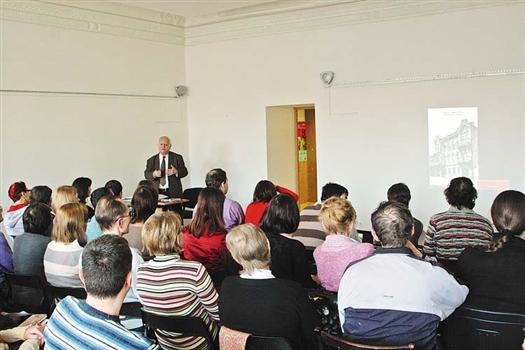 Лекция архитектора Каркарьяна собрала в «Арт-Пропаганде» полный зал