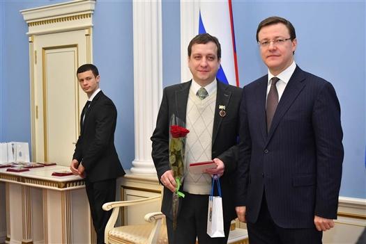 Денис Бокурадзе стал заслуженным работником культуры Самарской области