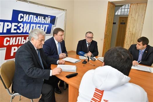 763 обращения граждан приняла общественная приемная регионального избирательного штаба Владимира Путина