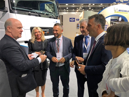 На выставке COMTRANS-2021 президент АВТОВАЗа Николя Мор и вице-президент Faurecia Russia Лукаш Бабущка обсудили перспективы водородных технологий на транспорте