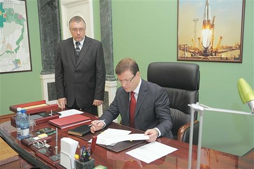 Департамент Андрея Прямилова (слева) ведет работу по присвоению Самаре кредитного рейтинга в соответствии с задачами, поставленными Дмитрием Азаровым