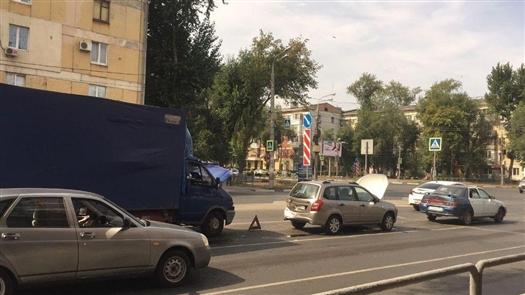 На ул. Авроры в Самаре в ДТП пострадал годовалый ребенок