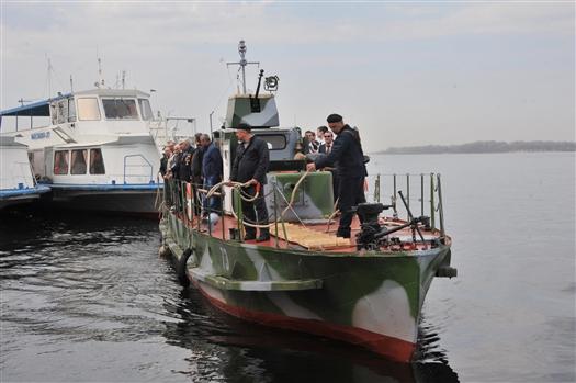 """Самарцы смогут посетить экспозицию военного судна """"БКА-73"""""""