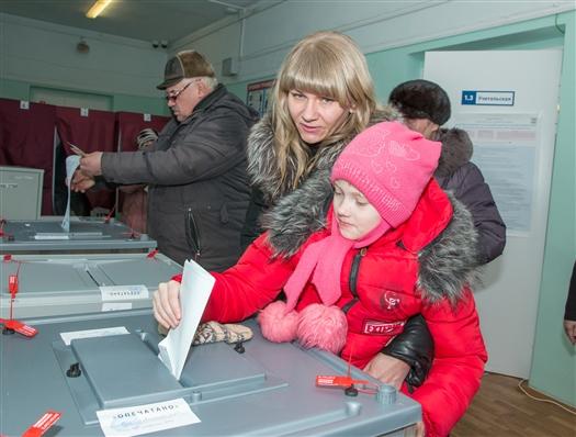 Явка на выборы президента РФ в Самарской области на 12:00 составляет 28,81%