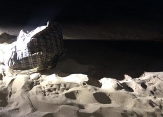 На самарском пляже нашли сумку с телом мертвой женщины