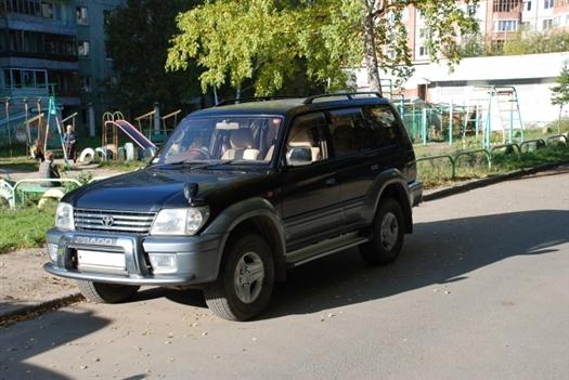 Водитель Toyota Land Cruiser сбил двух восьмилетних детей