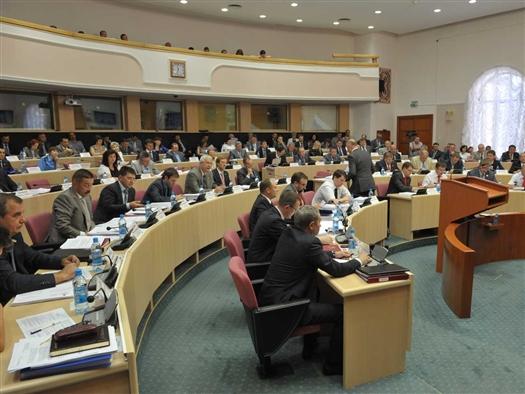 Во вторник, 13 ноября, на заседании Самарской губернской думы в первом чтении был принят проект закона  об областном бюджете на 2013 год  и на плановый период 2014-2015 годов