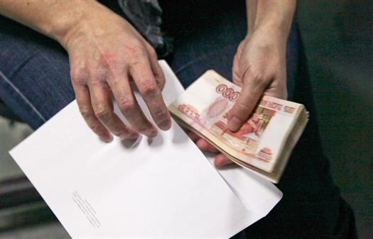 Задержана женщина-адвокат с 1,1 млн рублей