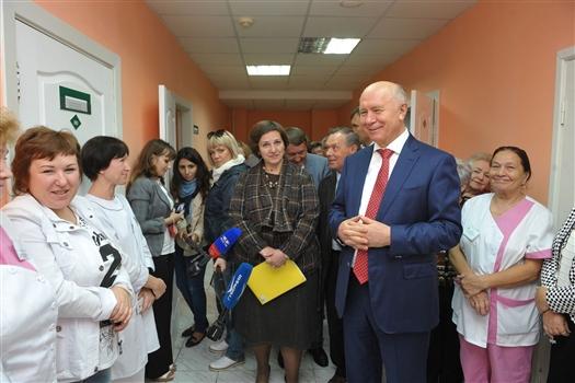 Губернатор побеседовал с ветеранами войны и труда Жигулевска