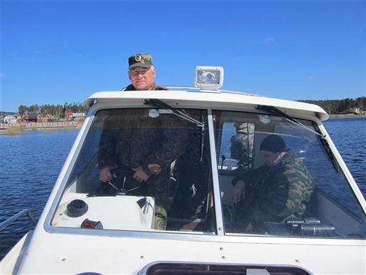 Инспекторы рыбоохраны изъяли около 450 кг осетровых