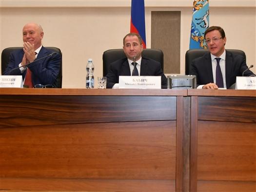 Михаил Бабич представил Дмитрия Азарова в качестве врио губернатора