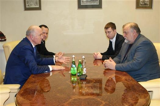 Николай Меркушкин и Евгений Каблов обсудили перспективы открытия в регионе филиала ВИАМ