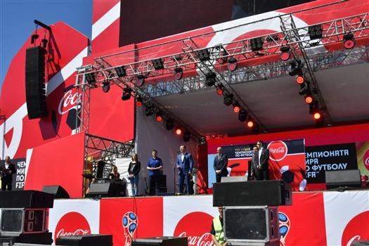 В Самаре представили кубок мира по футболу