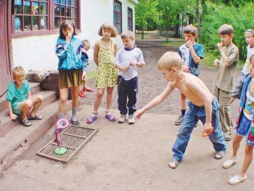 Досуг детей был интересным и разнообразным.