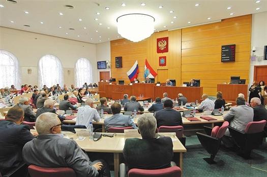 Завтра состоится первое заседание Самарской губернской думы нового созыва