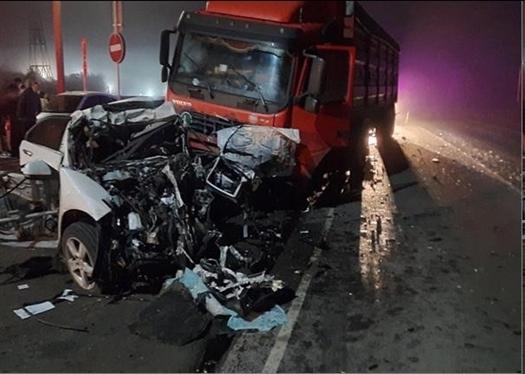 Три человека погибли в ДТП с легковушкой и грузовиком под Кинелем