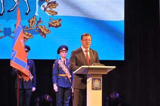 Дмитрий Азаров поздравил самарских спасателей с профессиональным праздником