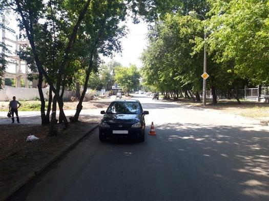 На ул. Нагорной Kalina сбила пешехода