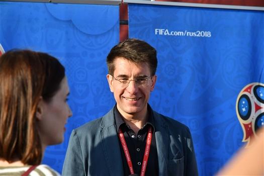 Сергей Филиппов: На открытии фан-зоны за 20 минут показали, чем богата Самарская земля