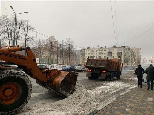 """МП """"Благоустройство"""" поймали на завышении объемов вывезенного из Самары снега"""