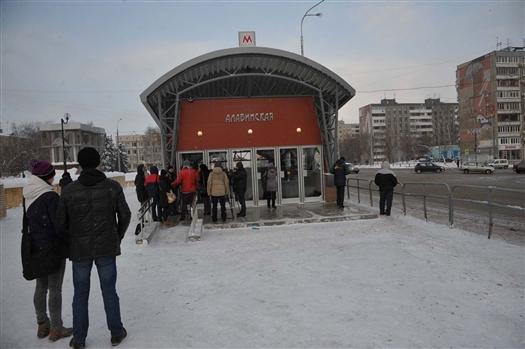 """Станция метро """"Алабинская"""" будет открыта для пассажиров 1 февраля в 11:00"""