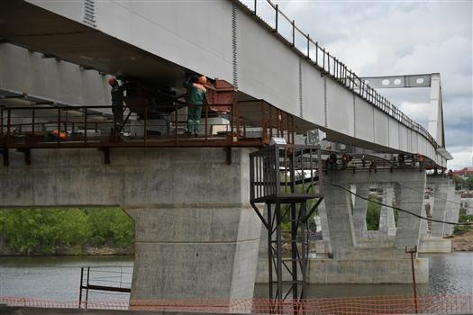 Проект развязки Фрунзенского моста скорректируют для сохранения трамвайных путей