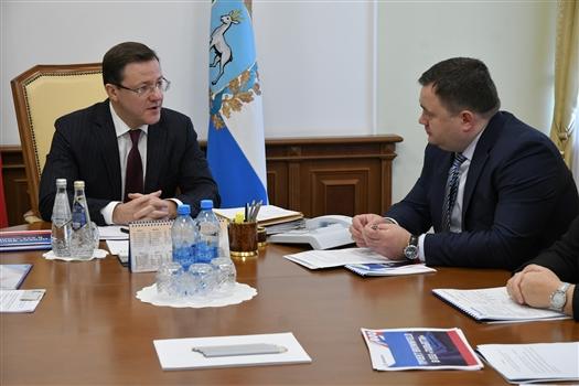 Дмитрий Азаров обсудил с руководством Промсвязьбанка  вопросы расширения партнерства