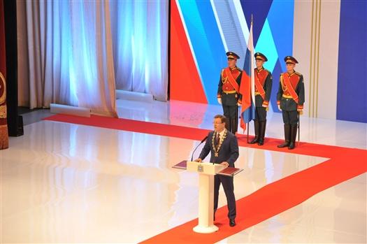 """Дмитрий Азаров: """"Даю слово, что буду свято хранить традиции Самарской земли"""""""
