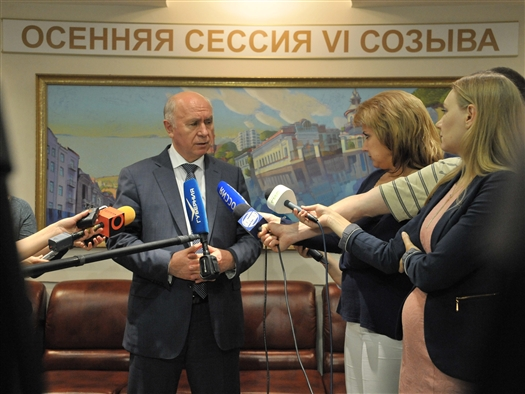 "Николай Меркушкин: ""Я абсолютно уверен - реформа МСУ станет большим шагом к преображению Самары"""
