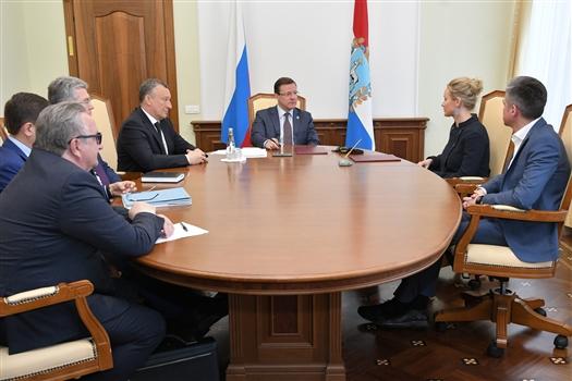 Подписано соглашение о сотрудничестве между Самарской областью и Фондом по поддержке социальных проектов
