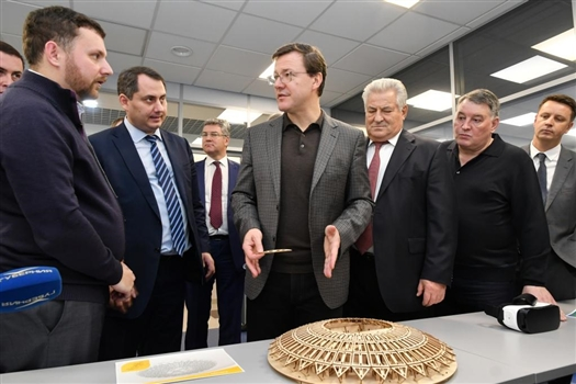 Глава региона оценил инновационные разработки СамГМУ