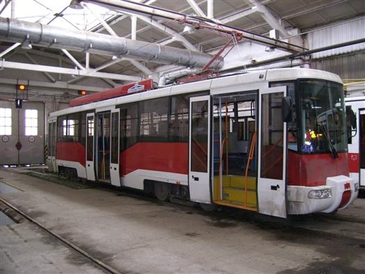 В среду, 25 апреля, в Самаре впервые вышел в рейс новый низкопольный трамвай