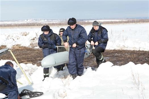 Представляемые на выставках беспилотники инжинирингового центра аэрокосмического кластера проходят испытания в различных климатических условиях