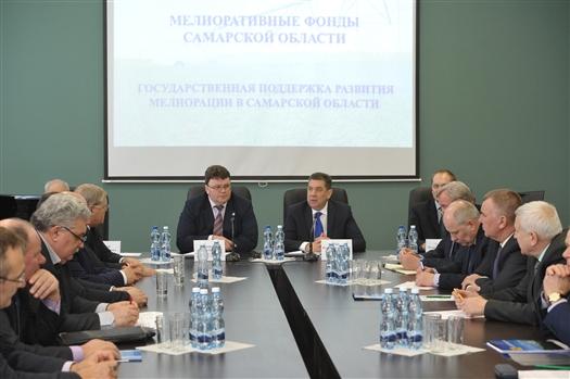 Директор департамента мелиорации Минсельхоза РФ посетил с рабочим визитом Самарскую область