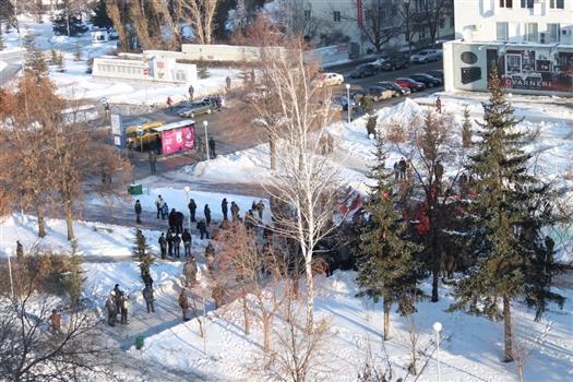 Организаторы приняли решение перенести мероприятие в сквер